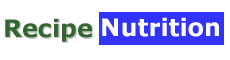 Nutrition information... your nutrition data, recipe Nutrition Planner, recipe builder and  shopping list generator